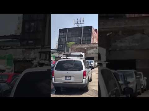 IMPACTANTE: Edificio se cae en la colonia Doctores de la CDMX