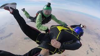 AFF, Stage 1 at Skydive Qatar