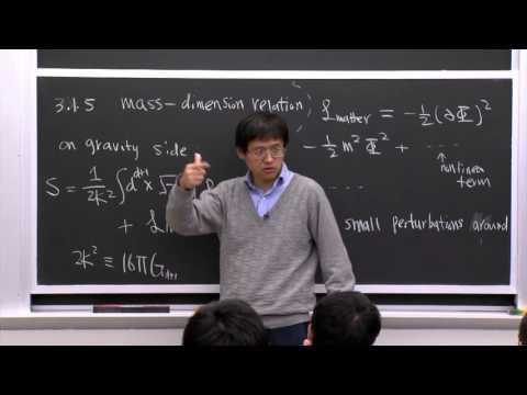 19. Mass-dimension Relation
