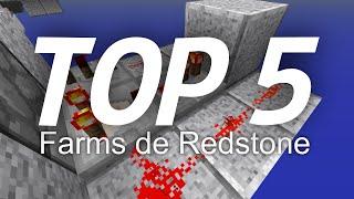 Top 5 Farms De Redstone | Redstone farms | Minecraft 1.8