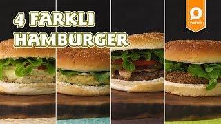 4 Farklı Hamburger Tarifi - Onedio Yemek - Tek Malzeme Çok Tarif