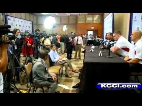 Hawkeyes and Huskers At Big Ten Media Days
