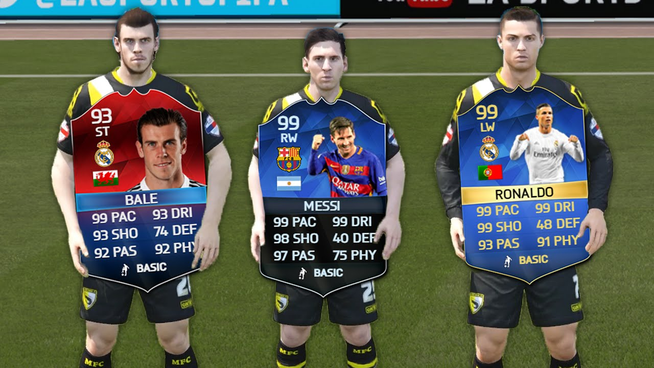 59194cc40cc6e FASTEST CARD IN FIFA 16 ULTIMATE TEAM | Speed Test