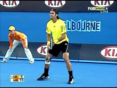 Fernando González vs Richard Gasquet - 2009 Australian Open R32 (FULL)