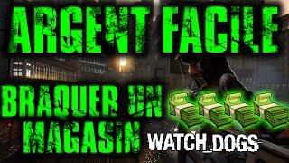 Watch Dogs Braquer un Magasin, Argent facile Par Mrthoomas62YT