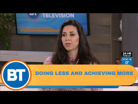 How women can do less and achieve more