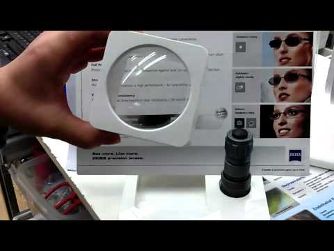 76a09981ce9 PhotoFusion by Carl Zeiss vs Transition Lenses - YouTube