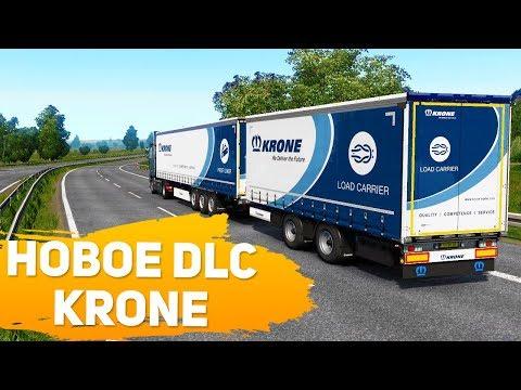 """НОВОЕ DLC ПОЛУПРИЦЕПЫ """"KRONE"""" - Euro Truck Simulator 2"""