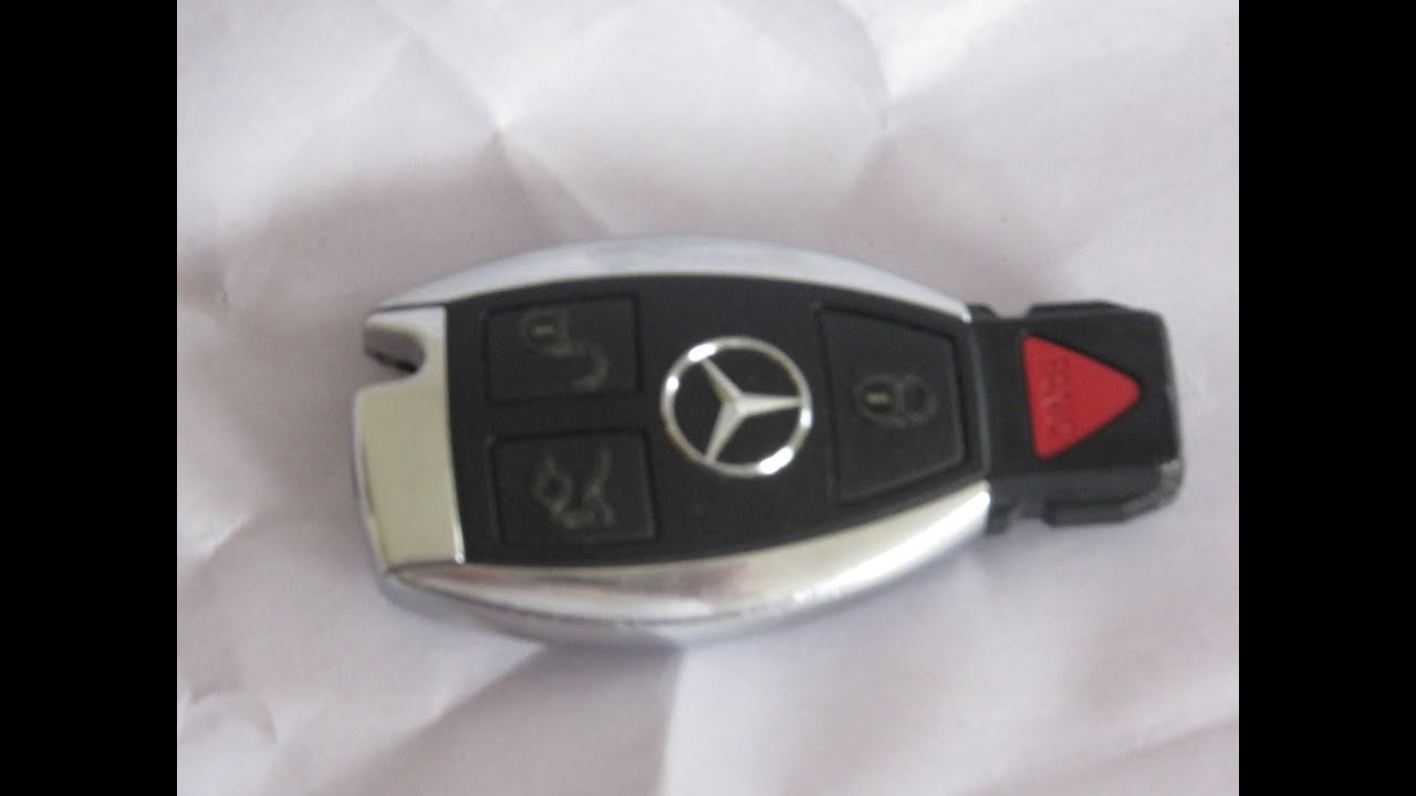 2007 mercedes c230 key battery replacement for Replacement key mercedes benz