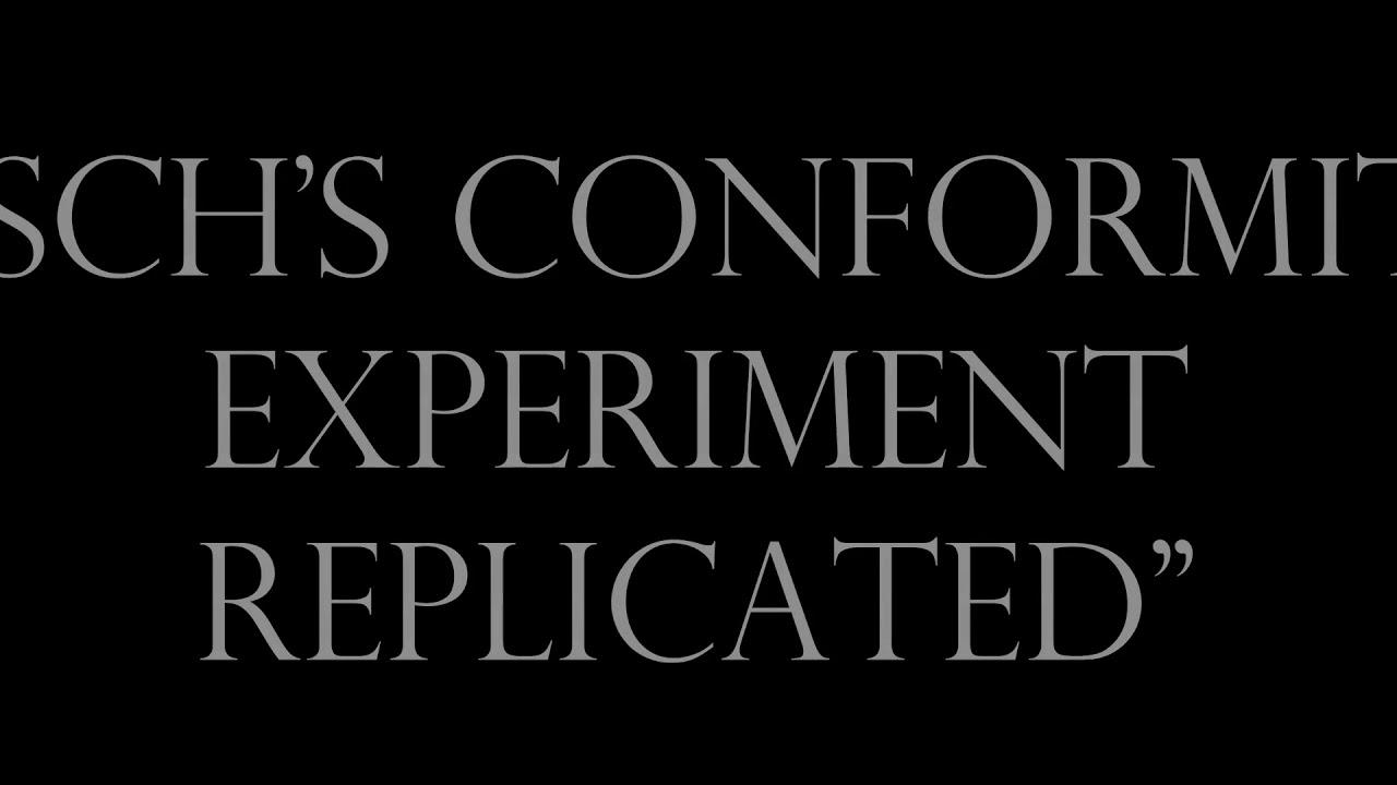 asch conformity experiment elevator