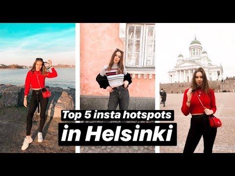 Top 5 Insta Hotspots in Helsinki | Instagrammable places in Helsinki | What to do in Helsinki