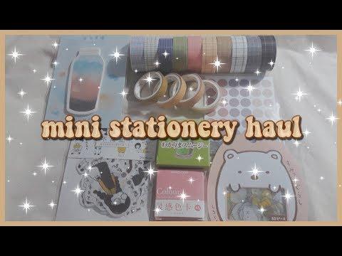 mini stationery haul | indonesia