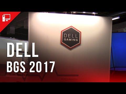 BGS 2107: Area 51, Alienware e outros PCs no estande da Dell
