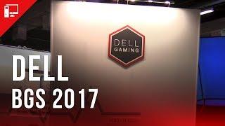 bgs 2017 area 51 alienware e outros pcs no estande da dell