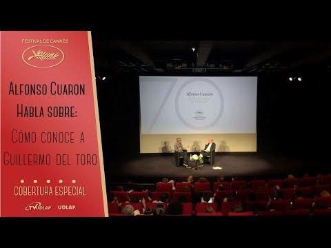 Alfonso Cuaron conoce a Guillermo del Toro / Cannes 70