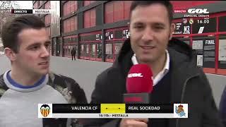 Valencia CF - Real Socidad: optimismo en la afición