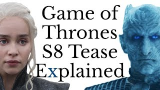 Game of Thrones Season 8 Dragonstone Tease Explained