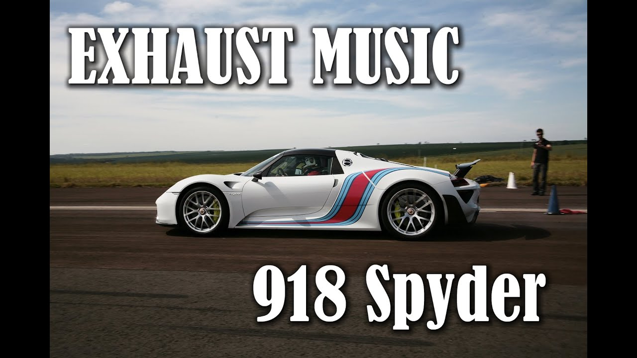 exhaust music porsche 918 spyder with weissach package youtube. Black Bedroom Furniture Sets. Home Design Ideas