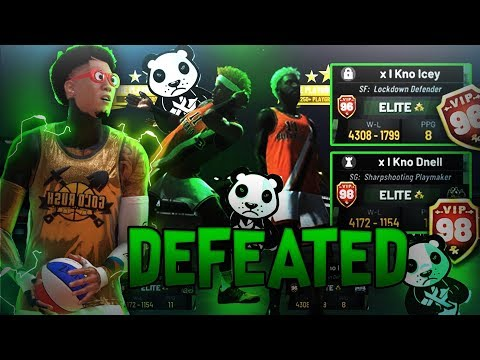 I Destroyed x I Kno Clan In a 2v2 Tournament For The $Cheese in NBA2K19!