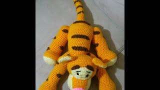 This Tiger amigurumi from the Disney cartoon.Тигра крючком.Схема.Тигра из Винни-Пуха от Диснея)