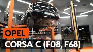 priekšā Amortizators maiņa OPEL CORSA C (F08, F68) - video pamācības