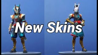 New Skins Taro and Nara in the Shop - Fortnite