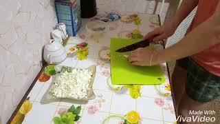 Вкуснейший)  Салат из р.лука и яиц)