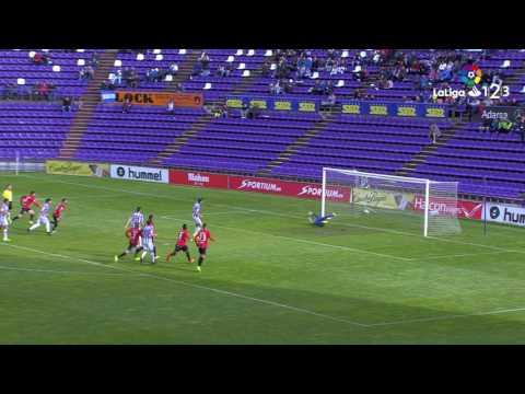 Resumen de Real Valladolid vs Nàstic (1-2)