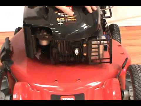 Replacing the Spark Plug - Toro Lawn Mower