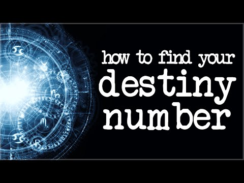 How To Calculate Your Destiny Number