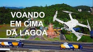 Voando na maior cidade de Santa Catarina - Drone Fimi x8