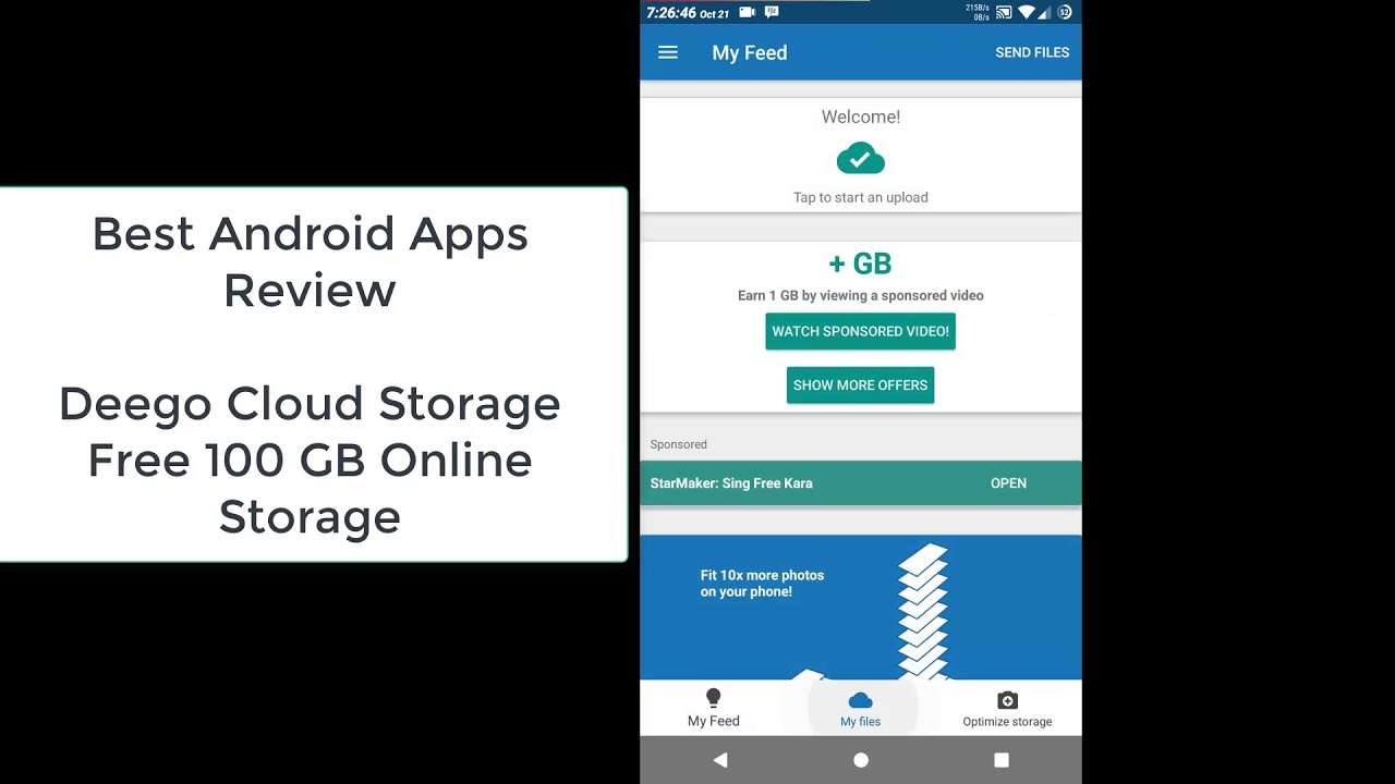 Review Deego Cloud Storage Get 100gb Free Online