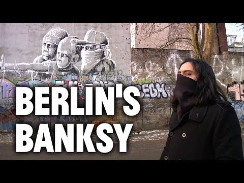 Inside the Mind of Alaniz, Berlin's Banksy