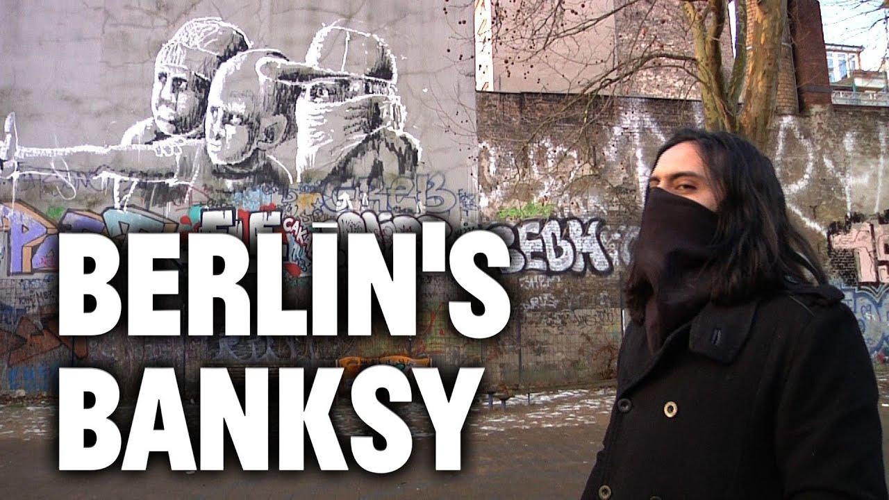 inside the mind of alaniz berlin 39 s banksy youtube. Black Bedroom Furniture Sets. Home Design Ideas