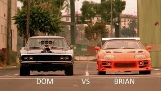 Video The Fast and The Furious (2001) Dominic Vs Brian Ending Race download MP3, 3GP, MP4, WEBM, AVI, FLV Oktober 2019