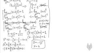 Репетитор по математике Павел Бердов решает сложные логарифмические уравнения(, 2014-05-20T13:42:57.000Z)