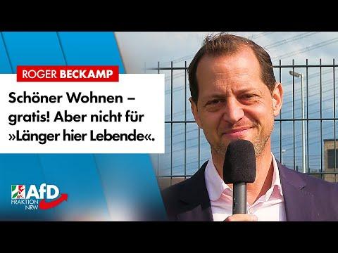 Gratis-Wohnungen für Asylanten in Top-Lage! – Roger Beckamp (AfD)