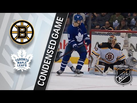 02/24/18 Condensed Game: Bruins @ Maple Leafs
