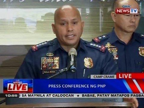 NTVL: Press conference ng PNP