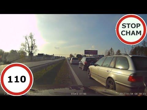 Stop Cham #110 – Niebezpieczne i chamskie sytuacje na drogach
