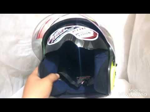 INI's Helmet ( PREMIUM Helmet With Low Budget ) ^_^ 089650008937