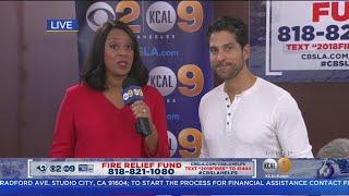 Fire Relief Fund: Adam Rodriguez of 'Criminal Minds'