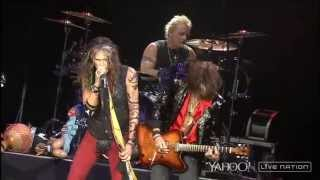 Aerosmith at Detroit via Yahoo Screen/Live Nation..... I do not own...