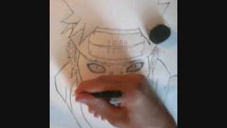 How to Draw God Realm Pain