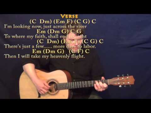 Beulah Land - Fingerstyle Guitar Cover Lesson in C with Chords/Lyrics