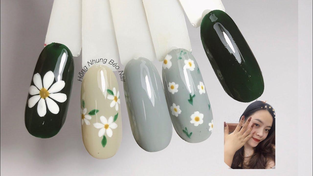 3 Cách Vẽ Hoa Đẹp, dễ làm, ứng dụng cao của thợ Nails – Học Nail không khó