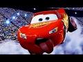 Cars 1,2 & 3 - LIGHTNING MCQUEEN Racing Scenes [HD]
