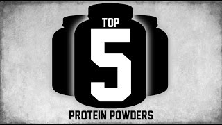 Top 5 Best Whey Protein Powder Supplements 2016 First Half | MassiveJoes.com | Isolate Shakes