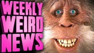 HOT FOR BIGFOOT? - Weekly Weird News