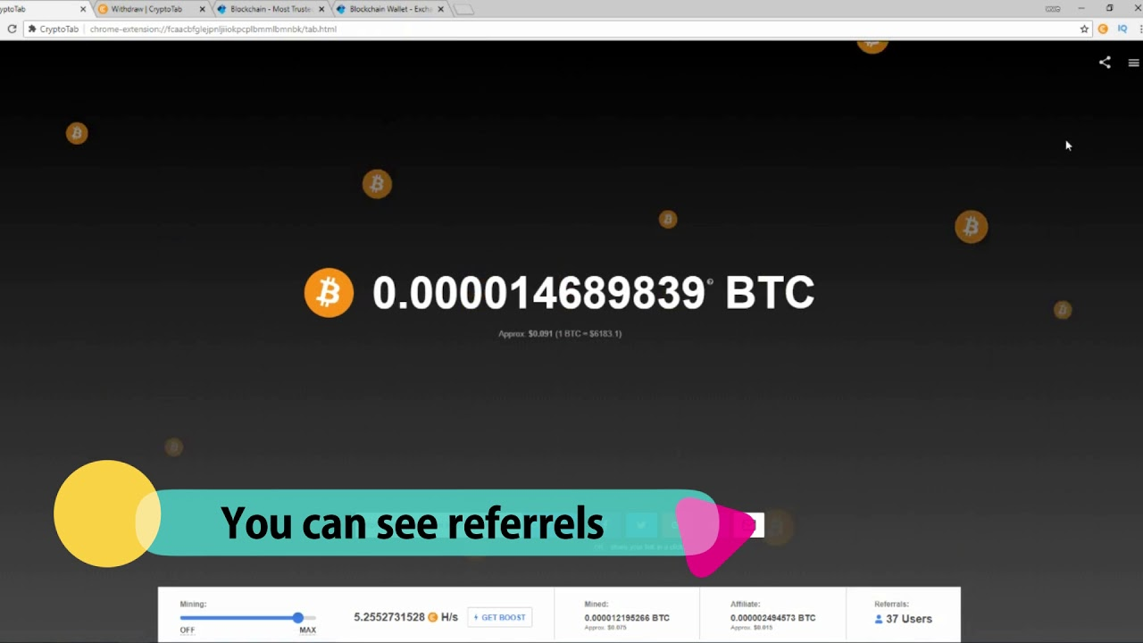 cryptocurrency mining income